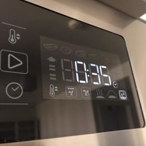 オーブンにはセルフクリーニング機能があった