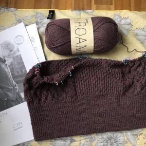 編み物をするための環境を早く整えたい