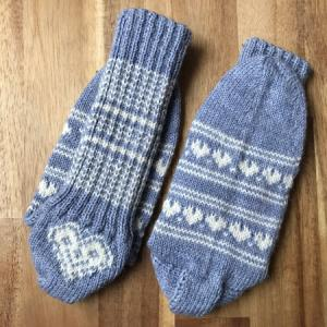 Dutch Heelという、くつ下のかかと編み