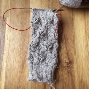 三つめのプレゼント用くつ下 ~Norah jones socks