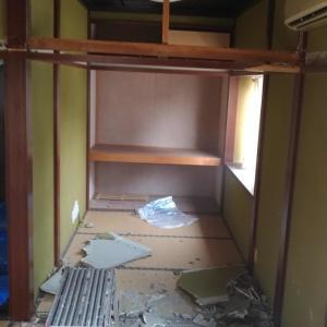 和室の洋室化:長押、鴨居の解体