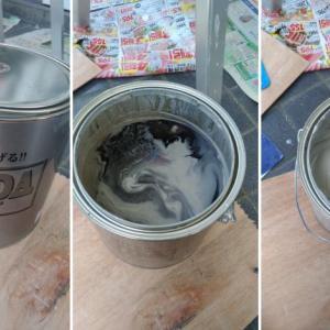 窯業系サイディングボードの外壁塗装③:下塗りとパテ埋め