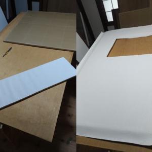 ふすまへの壁紙貼り:間仕切り用ふすまと板ふすま