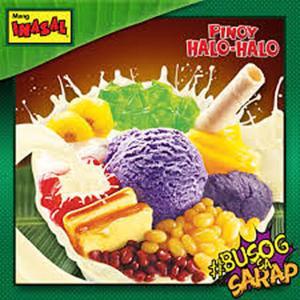「INASALでチキンとハロハロが食べたい!」と、フィリピンのローカル生活を知ってる人にしかわからないことを言ってみる🙂ウベ、紫いも、紅いも、ヤマイモ、ヤムイモ、さつまいもにジャガイモに、、芋にもいろいろあるけど、基本的にお芋好き!😊