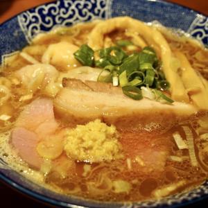 町屋:ぷるぷる水餃子と丁寧なスープが絶品「中華そば 虎桜」