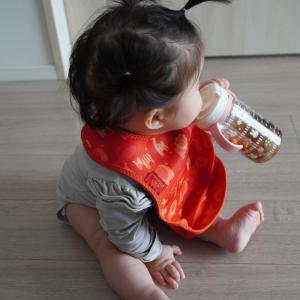 レビュー:生後7ヶ月でリッチェル「おでかけストローマグ」デビューしました