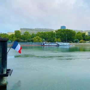 朝6時からセーヌ川散歩してみた。