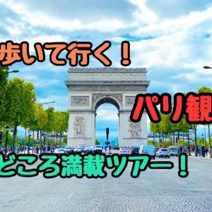 【見どころ満載!】歩いて行く、パリ観光ツアー!中央エリアを制覇!