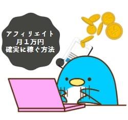 はてなブログは収益化できない?|アフィリエイトで月1万円確実に稼ぐ方法(ブログ運営1年4ヶ月の収益も公開)