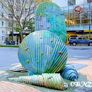 Jo's Style<14> アート・芸術の街 貝殻のオブジェ