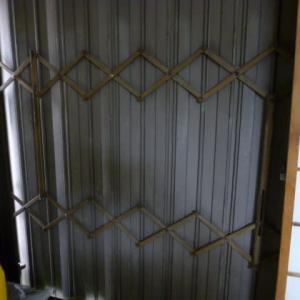 シャッター雨戸の修理。