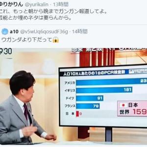 日本の感染者が少ないなんて、幻想。検査しないんだから。