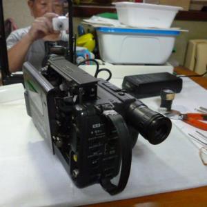 8mmビデオカメラはどこが壊れていたのか見直してみた。