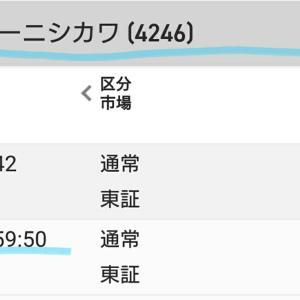 ダイキョーニシカワ(4246) 買いました