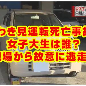 【福岡】スマホ操作しながら車を運転の女子大生、42歳男性を死亡させる
