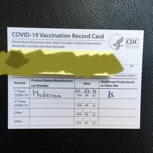 コロナ感染症予防接種