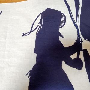 剣道屋さん特製の面手拭いをポイントで入手!, 遠州注ぎ染めでカッコいい!!