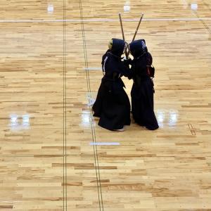 2021年剣連稽古会2回目, 1月とは思えない暖かさでした。