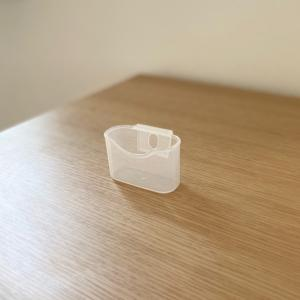 「セリア」の冷蔵庫ミニポケットが、洗面所収納にも使えるとは!