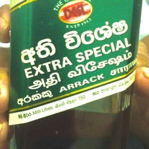 スリランカのお酒 「アラック」☆彡