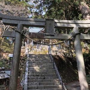 玉置神社で不思議体験
