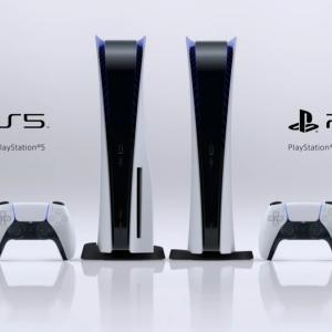 PS5、本体や周辺機器を公開。PS5は2モデル存在。