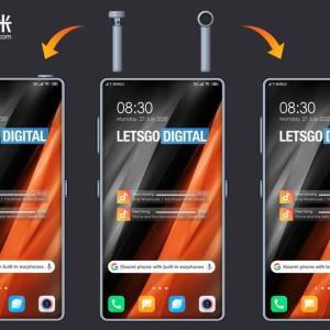 Xiaomiがスマホ内にワイヤレスイヤホンをスマホ内に。特許公開