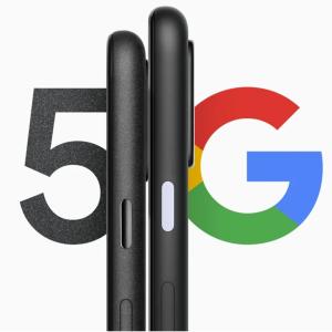 Google、Pixel 4a(5G)とPixel 5の予告をする。60500円から。