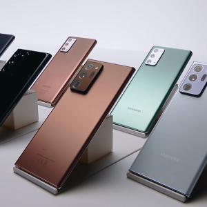 Galaxy Note20シリーズ公式発表!