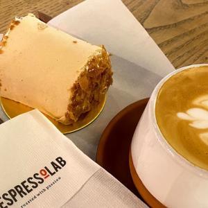 まるごとバナナ風ケーキ、「Espressolab」で食べられます!