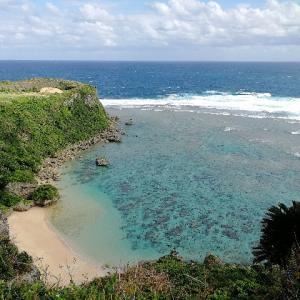 超絶景・沖縄パワースポット、カフーバンタ(果報バンタ)へ行ってきた。