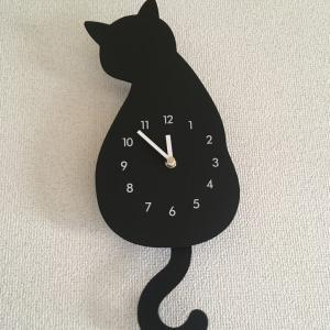 黒猫の時計