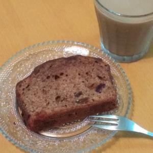 朝ごはん☆手作りチョコケーキ