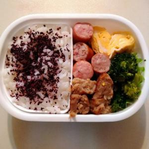 幼稚園のお弁当と朝ごはんは☆お馴染み