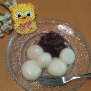 パグ太郎とあんこ餅