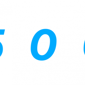 500記事!