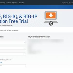 BIG-IPのトライアル版ライセンスキーを入手できない場合の対処方法