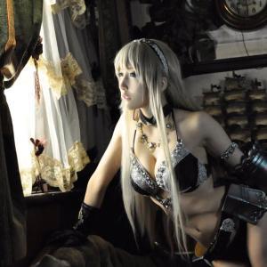 【悲報】女騎士さん、裸同然の装備で戦場に出てしまう