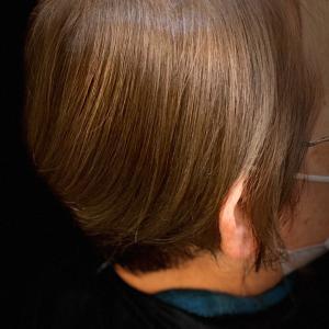 髪の毛カットとカラーしてきました