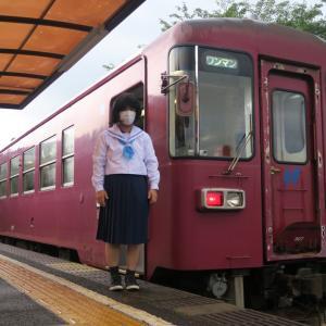 長良川鉄道とともに