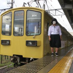 近江鉄道とともに(八日市高校 夏セーラーVer)