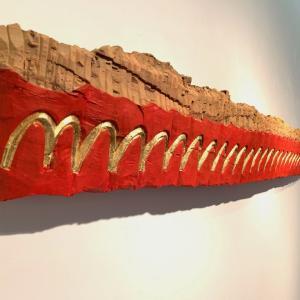 北浦和也木彫展、はじまる。
