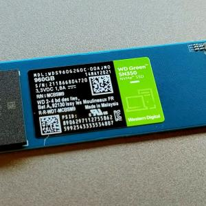 【レビュー】WD製最安の低発熱1TB SSDで換装してみた