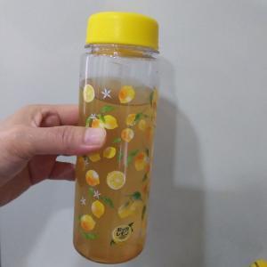 ポッカレモンでレモネード作りました!