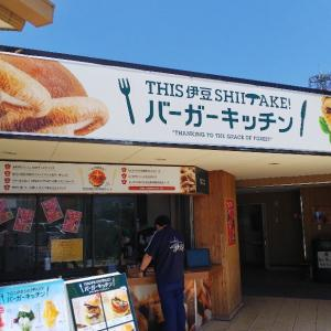 三島市「伊豆・村の駅」THIS 伊豆 SHIITAKEバーガーキッチン♪