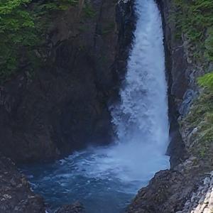 静岡市葵区「オクシズ 赤水の滝」&「日帰り温泉 黄金の湯」