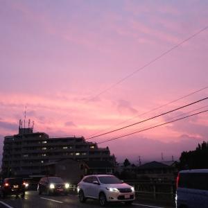 空が綺麗だったので・・