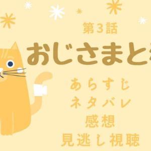 【おじさまと猫】ドラマ第3話のネタバレ感想!あらすじや見逃し視聴は?