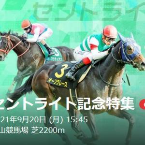 「G2セントライト記念2021」レースの傾向と注目血統馬