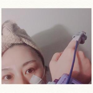 正中頸嚢胞入院準備と手術当日。
